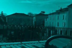Vu de Mansle au passage d'un pont